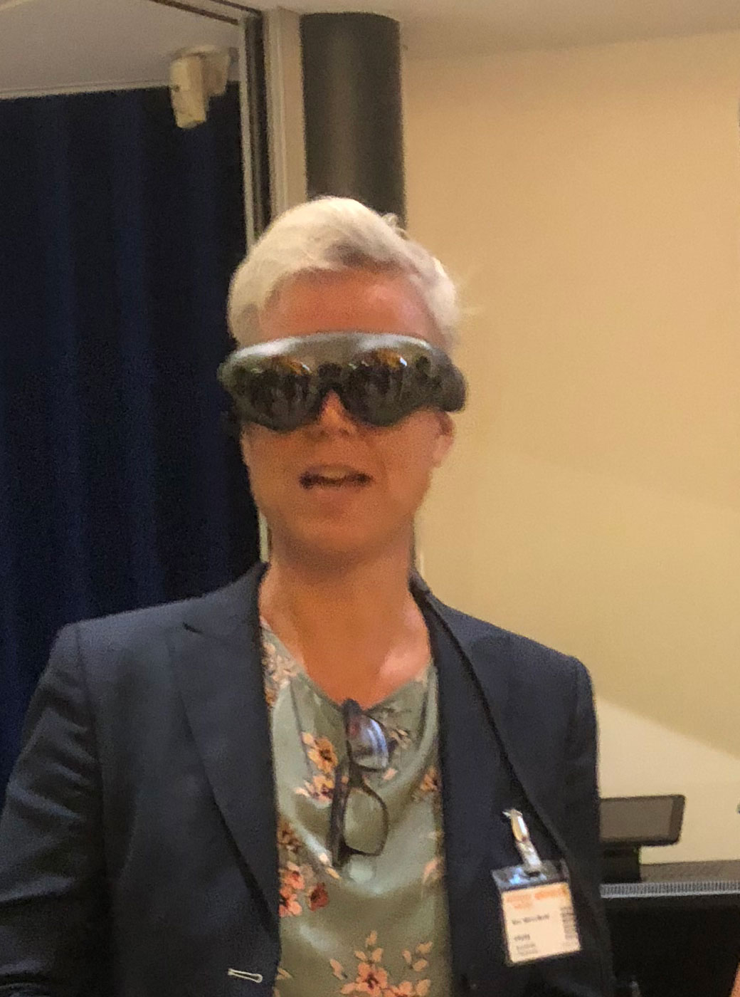 Marion magic leap bril op