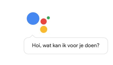 google assistant in het nederlands