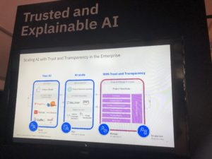 Trusted and explainable AI